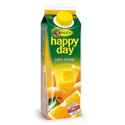 Happy Day Orange 100 % 1L Tetra Pack