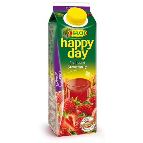 Happy Day Erdbeere 1L Tetra Pack