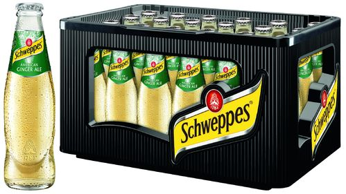 Schweppes Ginger Ale 24 x 0,2l MW